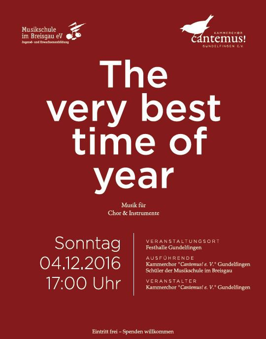 Flyer Adventskonzert